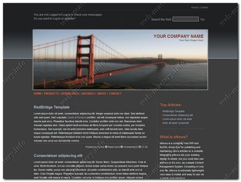 Дизайн для сайта скачать