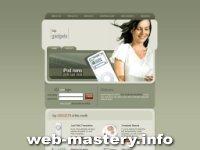 Сайт о гаджетах (iPod nano)