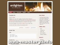 Шаблон сайта Enlighten