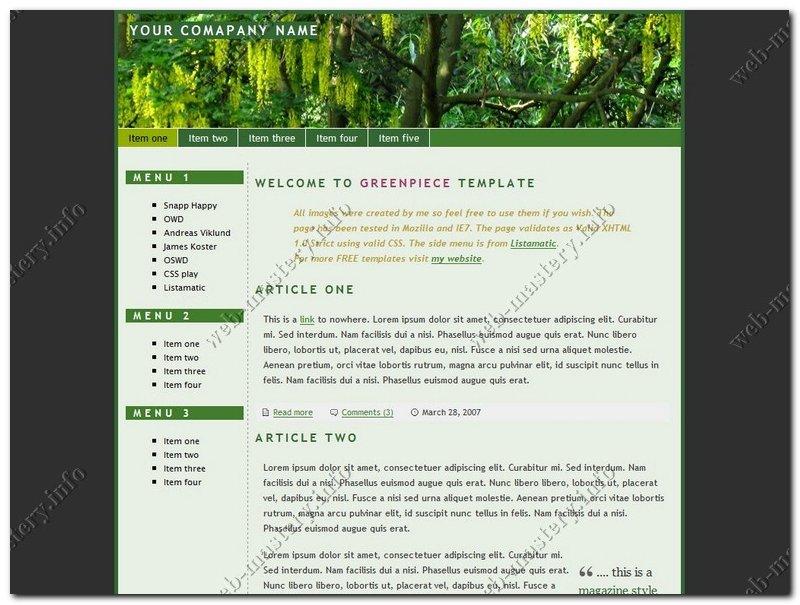 Официальный сайт Green Piece