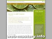 Шаблон сайта Limes
