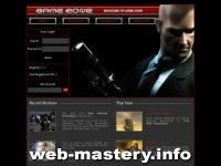 шаблоны для игровых сайтов и кланов