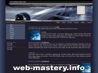 Шаблон Space - игровые сайты
