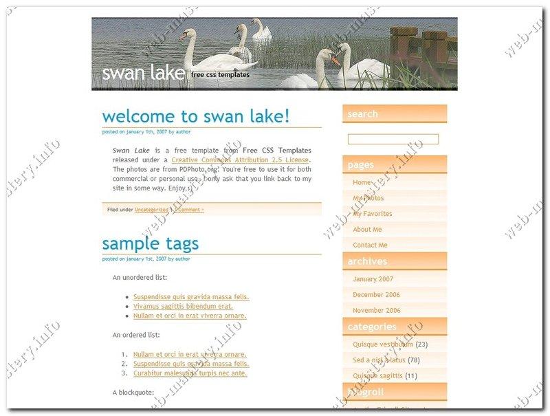 Swan Lake (Лебединое озеро)