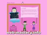 Шаблон детского сайта Dream Princess
