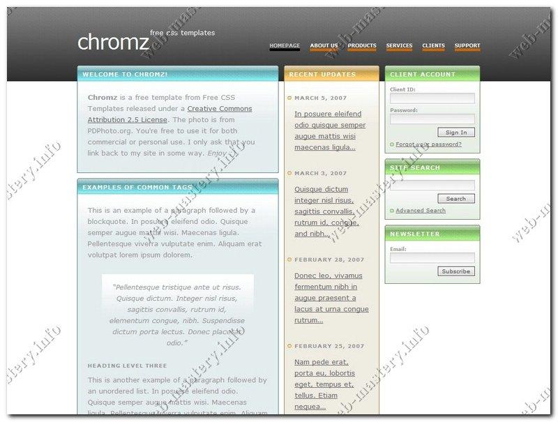Сайт Chrome