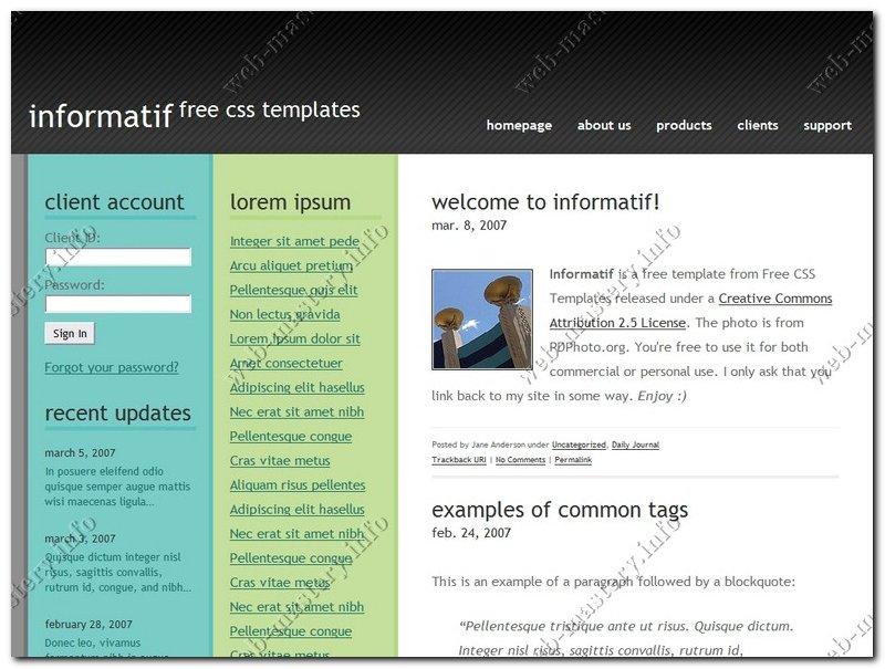 Сайт рефератов Informatif