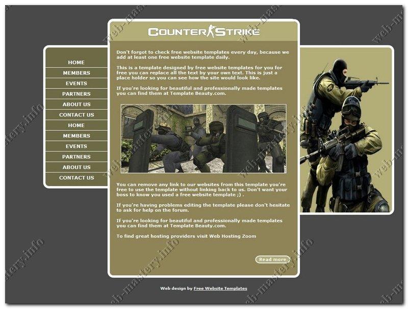 Сайт counter strike