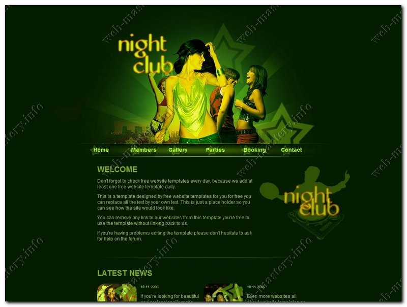 Дизайн Night club