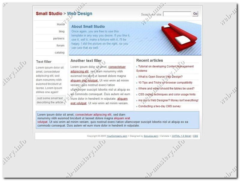 Студия веб дизайна (Studio Web Design)